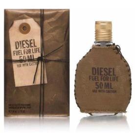 Perfume Diesel Fuel For Life Masculino Edt 50ml Original