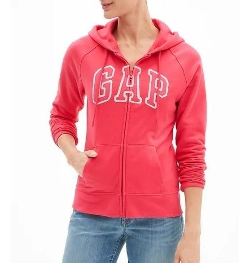 Sudadera Gap Mujer Color Rosa Mosqueta Varias Tallas
