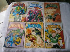 Liga Da Justiça Formatinhos 3 Gibis Por 20,00