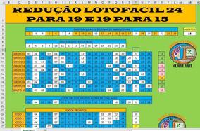 Planilha Da Lotofacil - Redução De 23 Para 19 E 19 Para 15