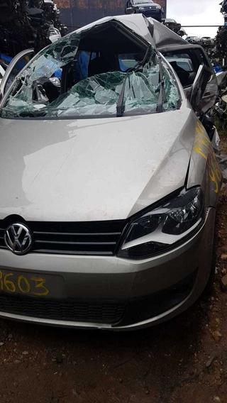 Volkswagen Fox 2014 Airbag Motor Câmbio Diferencial Sucata
