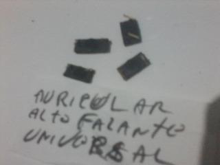 Alto Falante Auricular Celular Universal Kit 4
