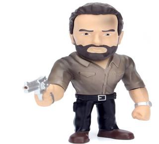 Figura Metalica 11 Cm. Rick Grimes The Walking Dead
