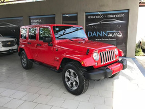 Jeep Wrangler 3.7 Unlimited Sahara 3.6 4x4 At 2017