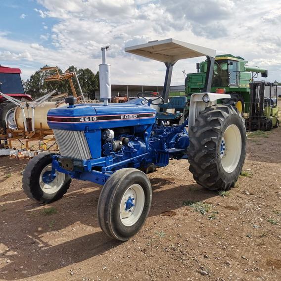Tractor Agricola Ford 4610 De 60 Hp Tres Puntos Tomas Hidrau