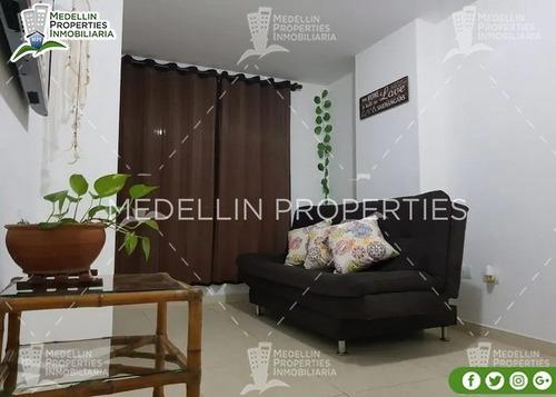 Apartamento Amoblado Sabaneta Por Mes   Cód: 5023