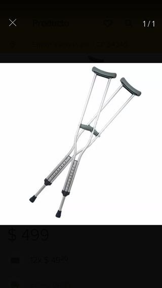 Muletas Ortopedicas De Aluminio Nuevas Super Precio