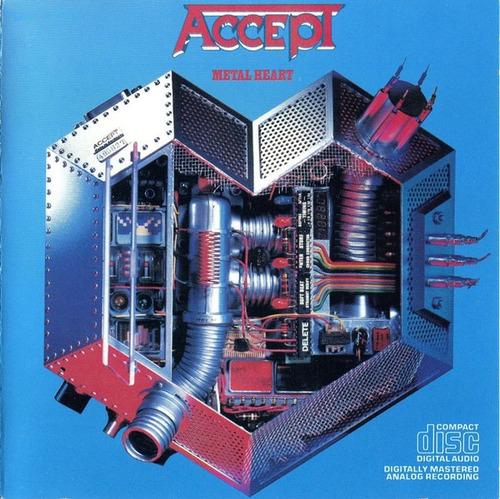 Cd Accept Metal Heart Importado Usa