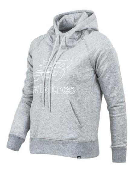 Buzo Canguro New Balance Essentials Pullover Wt91523ag