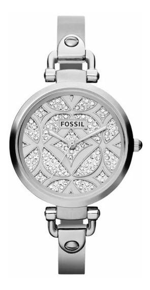 Relógio Importado Fossil Original Com Cristais