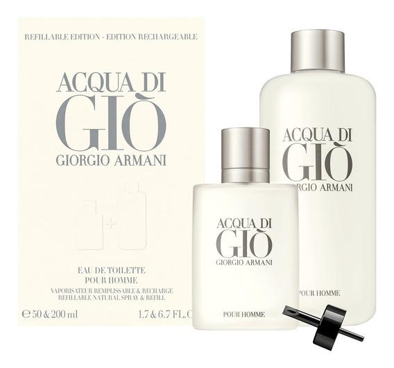 Acqua Di Giò Pour Homme Giorgio Armani Edt 50ml E 200ml