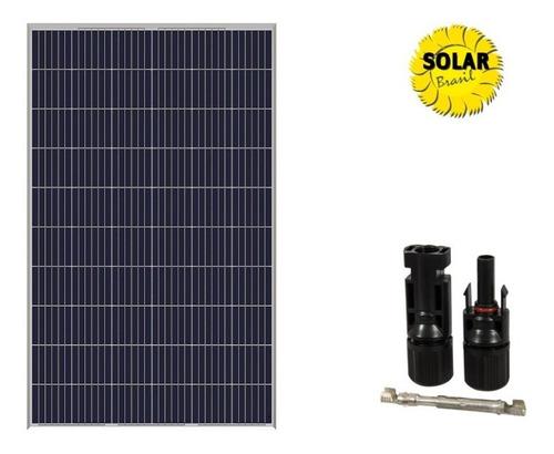 Imagem 1 de 6 de Placa / Painel / Modulo Solar Amerisolar 285w + Mc4