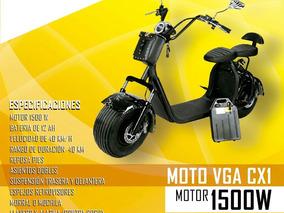 Moto Scooter Eléctrica Vga Motors (nueva)
