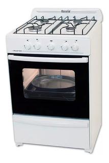 Cocina Escorial Master 4 Hornallas 56 Cm Multigas