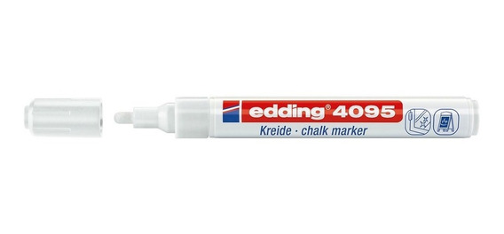 Marcador Tiza P/pizarra Vidrio Edding 4095 Chalk Color Xunid