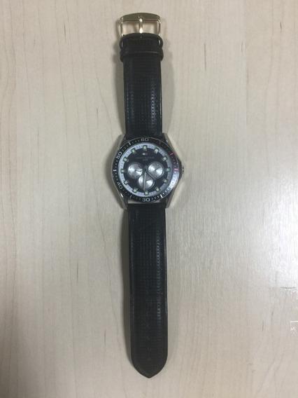 Relógio Tommy Hilfiger 5 Atm Usado Bom Estado Pulseira Couro