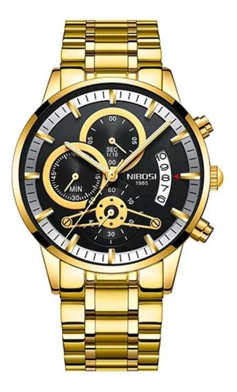 Relógio Masculino Nibosi 2309-1 Funcional Pronta Entrega