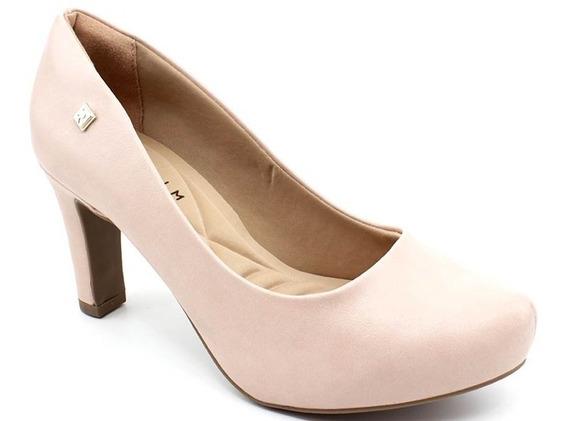 Sapato Scarpin Ramarim 20-98101 Napa Rosa Nude