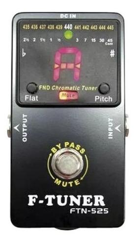 Ross Ftn525 Pedal Afinador Cromatico De Piso