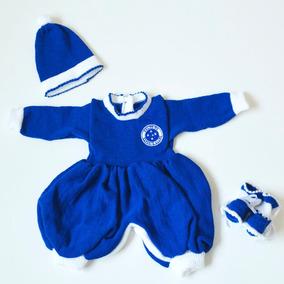 Macacão De Bebê Do Cruzeiro