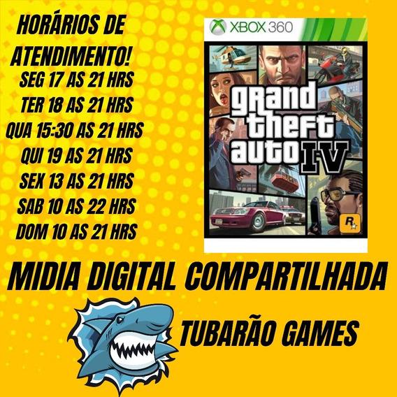 Gta 4 Mídia Digital Xbox 360+leia A Descrição