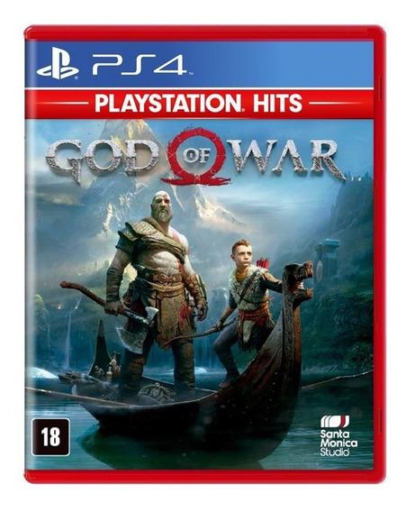 Jogo God Of War 4 Mídia Física - Ps4