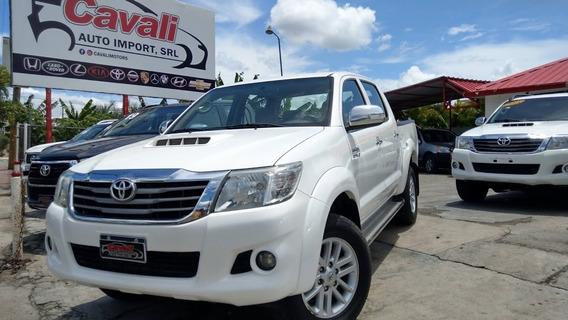 Toyota Hilux G Vigo Blanca 2014