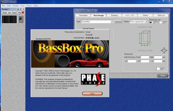 Bass Box Pro 6 Original. Acompanha Arquivo De Licença