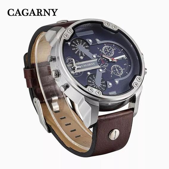 Relógio Masculino Cagarny 6820 Original Importado Promoção