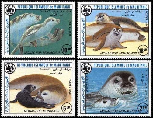 Fauna - Wwf - Mauritania 1986 - Serie Mint