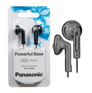 Auriculares Panasonic Rp-hv096 Powerful Bass Ramos Mejia