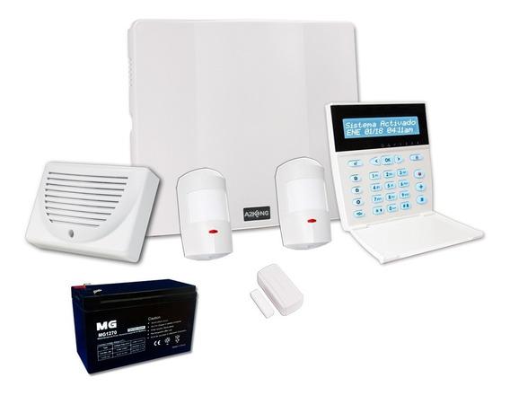 Alarma Para Casa O Departamento 7 Zonas Kit - Inalámbrico
