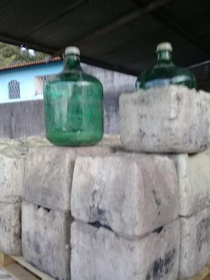 Garrafão Vidro 30 Litros Lote Com 50 Und Só Para Retirar