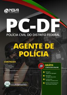 Apostila Policia Civil Pc-df 2020 - Agente De Polícia