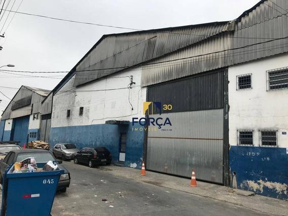 Galpão Para Alugar, 1100 M² Por R$ 12.000/mês - Vila Itapegica - Guarulhos/sp - Ga0676