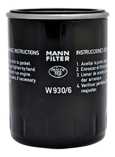 Imagem 1 de 2 de Elemento Filtrante Mann, Filtro Oleo Opala Caravan 4 Cc Tds