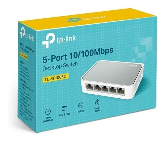 Tp-link Switch Tl-sf1005d De 5 Bocas