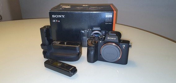 Sony A7r3 A7riii Corpo + Battery Grip Meike