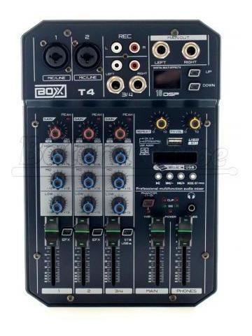 Interface Mesa Boxx Mixer T4 Usb