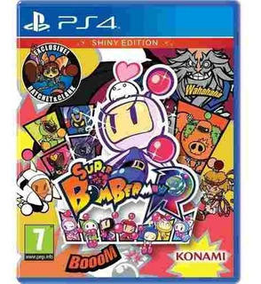 Juego Ps4 Super Bomberman R Shiny Edition