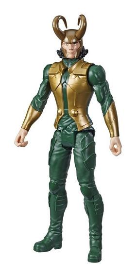 Novo Boneco Vingadores Loki Titan Hero Series 30 Cm Hasbro