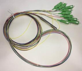 Splitter 1*8 0.9mm 1.5m Sm Sc-apc Plc Color(10 Unidades)