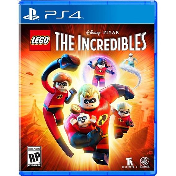 Lego The Incredibles - Ps4 Lacrado