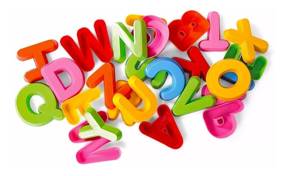 Letra Alfabeto Colorido Maleta Forminhas Pedagogica Didatica