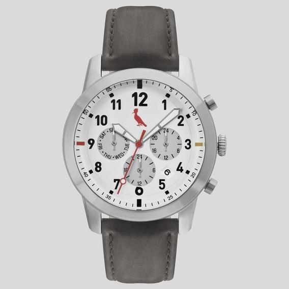 Relógio Reserva Masculino Ref: Rejp25ae/0c Vintage Prateado