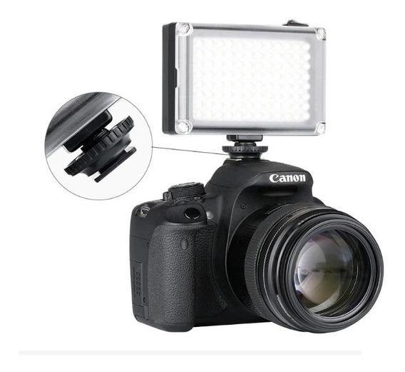 Iluminador 96 Led Para Filmadoras E Fotografias Frete Grátis