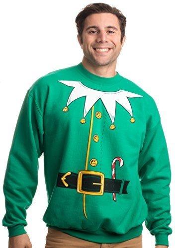 Disfraz De Duende De Santa | Novedad Christmas Sweater, Holi