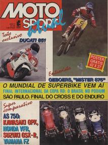 Moto Sport Atual N°46 Gpx 750 Gsx-r 750j Fz 750 Vfr 750f