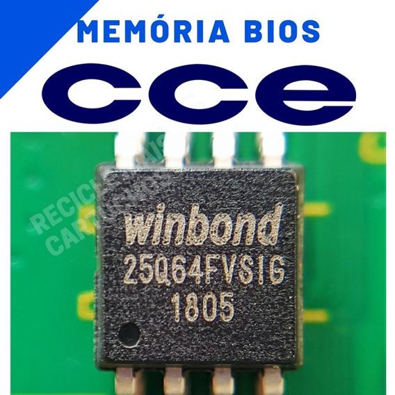 Memoria Flash Tv Cce Lt32g Chip Gravado Original