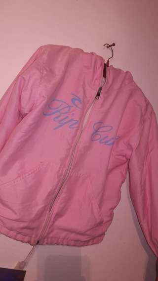 Rompeviento Rip Curl Crop Top Pink 90